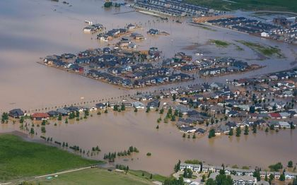 The floods that devastated southern Alberta ranked third highest in disaster insurance claims in 2013