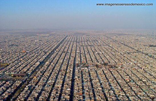 Mexico City today: the largest metropolitan area in the Western Hemisphere.