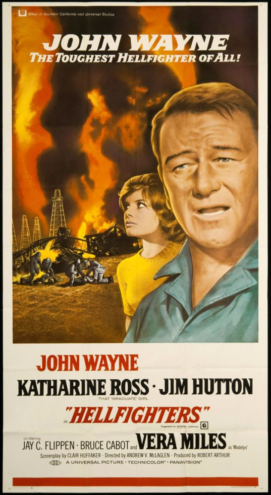 Now a team of engineers believe that they can fight these fires by blasting them with explosive force...some believe John Wayne was there first...