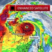 Typhoon Rammasun (Glenda) has arrived in the Philippines.