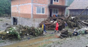 A Red Cross team was dispatched to Boljetin, one of the most affected areas by the latest wave of floods that hit eastern parts of Serbia. Red Cross of Serbia