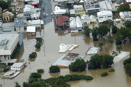 Gympie cut in two...back in 2011...source:http://www.smh.com.au/environment/weather/nothing-but-water-as-gympie-cut-in-two-20110111-19mrt.html