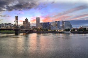 Officials in Portland, Ore., are waiting to hear if the city has been selected to receive a grant as part of the Rockefeller Foundation's 100 Resilient Cities Challenge.  Shutterstock