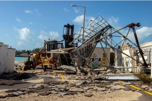 Dealing with hurricanes on the British island has become old hat for Bacardi's staff. Photo: REUTERS