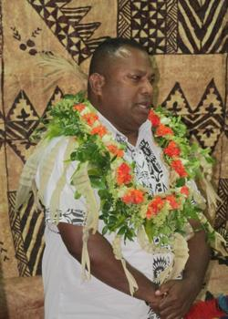 Minister for Agriculture and Natural Disaster Management Inia Seruiratu