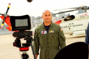 'Paratus 14:50' is a documentary examining Coast Guard rescue efforts in the wake of Hurricane Katrina. Among the film's interview subjects is rescue swimmer Robert Williams. (Courtesy of SmithFilm LLC)