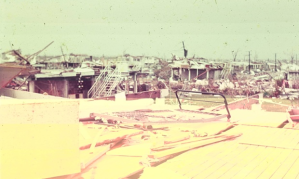 Darwin's suburbs in the aftermath of Cyclone Tracy in December 1974. Photograph: Matthew Spicer/AAP Image