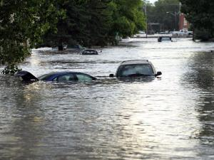 On June 20, 2013 this street with the Wales Theatre in the background was under several feet of water.  Lorraine Hjalte / Calgary Herald