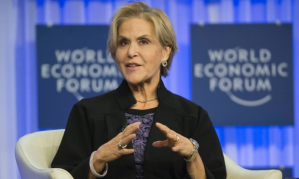 The president of the Rockefeller Foundation, Judith Rodin, defines resilience as 'the capacity to bounce back from a crisis, learn from it, and achieve revitalisation'. Photograph: Michel Euler/AP