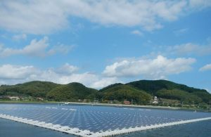 Floating solar arrays take advantage of open water where land space is constrained.