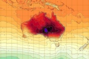 More than 123 temperature records were broken during the summer of 2013. (BoM)