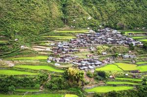 A village in the Cordillera mountains, Luzon, Philippines. White spaces tech brought network access to remote locations across the Philippines in the wake of natural disasters. Image: Shutterstock/joyfull