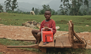BuffaloGrid aims to enable mobile phones to be charged in off-grid locations. Photograph: BuffaloGrid
