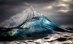 Scientists believe ocean currents and natural cycles are temporarily offsetting a sea level rise in the Pacific Ocean. Photograph: Ray Collins/Barcroft Media