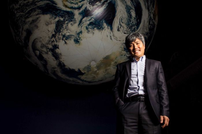 Photo: Former NASA scientist Professor Shin-Chan Han is researching the impacts earthquakes have on the planet. (1233 ABC Newcastle: Robert Virtue)