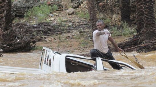 Dozens of homes and vehicles on Socotra were damaged by water or swept away.  Image source: http://www.bbc.com/news/world-middle-east-34698709