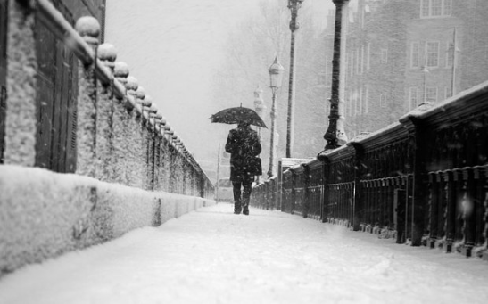 Snow storms could hit the country from Friday as forecasters issue snow and wind warnings. Photo: Alamy