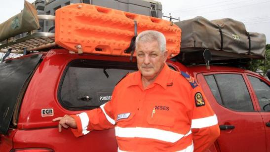 Former Innisail SES local area coordinator Alan Green recalls his memories of Cyclone Larry during which he coordinated response, while his family's house was nearly destroyed. PICTURE: JUSTIN BRIERTY