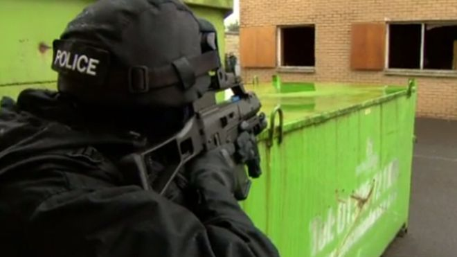 Last week Police Scotland announced plans for more armed officers after warnings the country would not be able to cope with a major terror attack