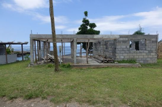 An abandoned building on the Vanuatu island of Tanna, which was damaged by cyclone Pam in March 2015. Photo: RNZI / Jamie Tahana