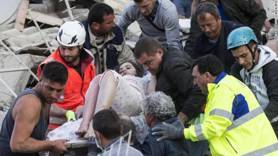 At least 247 killed in earthquake in central Italy Source:http://edition.cnn.com/2016/08/23/europe/italy-earthquake/