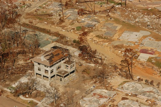 FEMA photograph by John Fleck taken in Mississippi. Wikimedia Commons