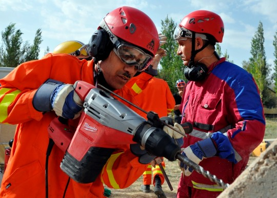 Search and rescue teams in Tajikistan are about to get a boost thanks to a 10 million contribution from Japan (Photo: UNDP Tajikistan)