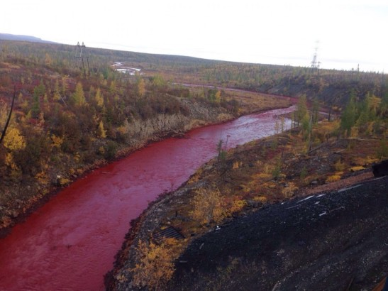 What is the  Chemistry Behind Russia's Red River