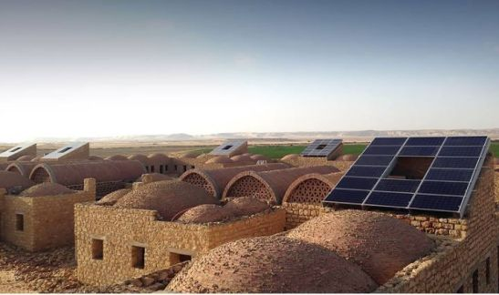 solar community in desert: how small towns deal with climate change....