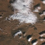 Snowfall was recorded in the Sahara Desert for the first time in 37 years