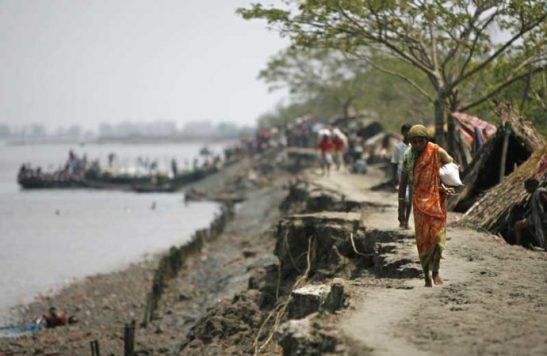 Rising sea levels caused by climate change will wipe out more cultivated land in Bangladesh than anywhere else in the world,