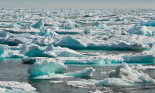 Ice covering the ocean surface along lower Baffin Island, in the Hudson Strait and the Labrador Sea. Photograph: Kike Calvo/National Geographic Creative/Alamy Stock Photo