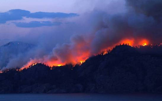 wildfires in BC