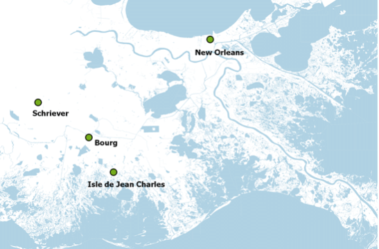 new orleans region map