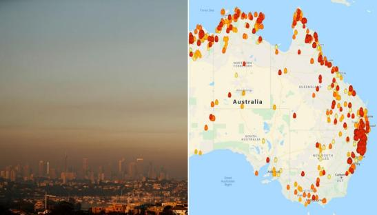 fires in oz