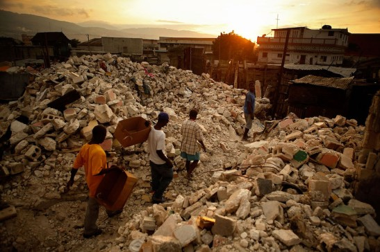 Haitians Continue To Struggle One Month After Earthquake