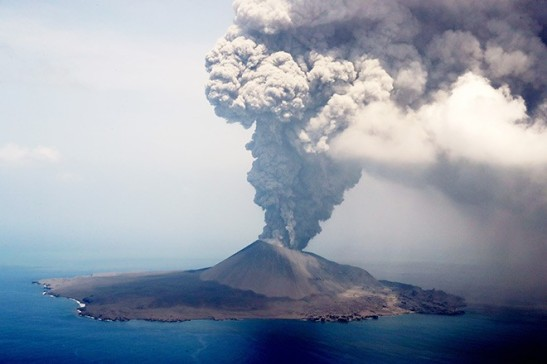 eruption July